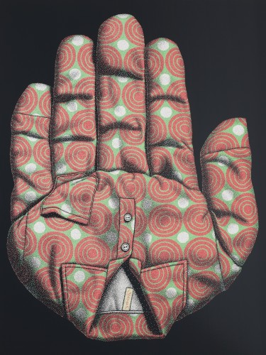 멈춤 165X218 acrylic on canvas  2010
