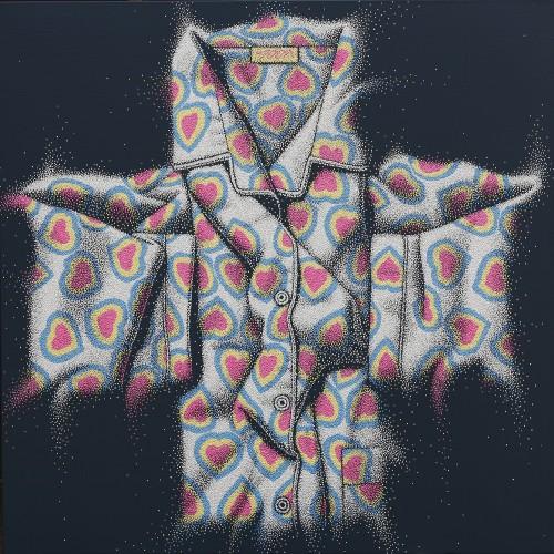 산다는것 97X97 acryilc on canvas 2012