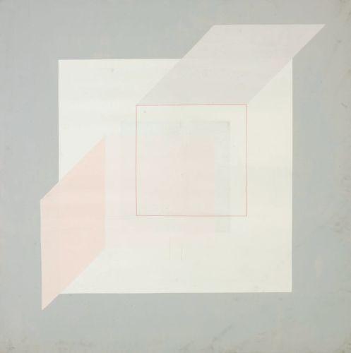 Simultaneity 73-17,116ⅹ116cm,Oil on canvas,1973