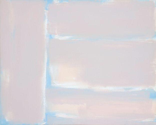 Simultaneity 94-20,100ⅹ80cm, Acrylic on canvas, 1994