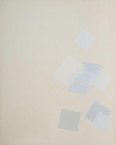 Simultaneity 84-111,224.5ⅹ180.5cm,Oil on canvas,1984