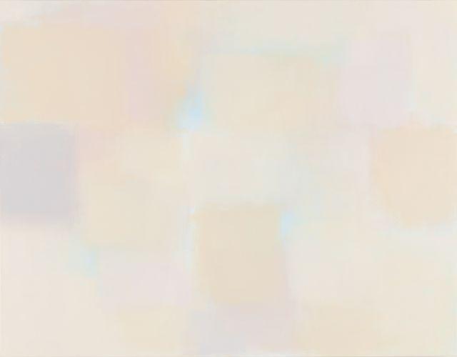 Simultaneity 16-326, 2016, Acrylic on canvas, 16.7Ⅹ90.9㎝
