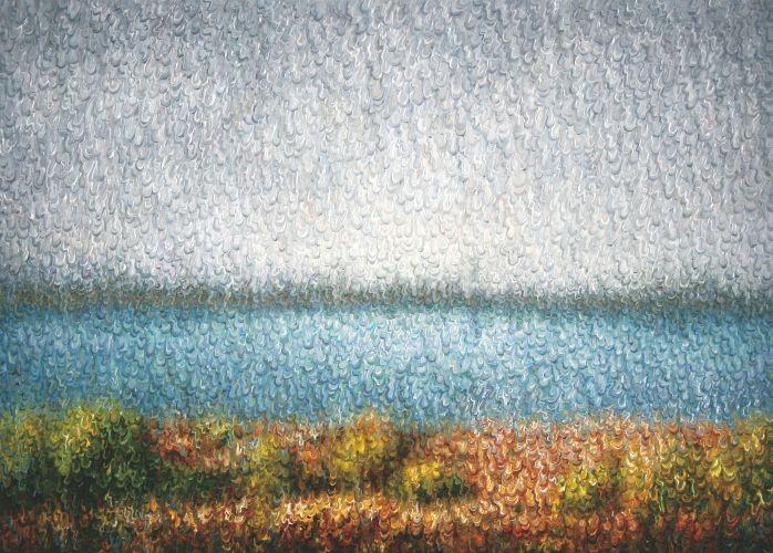 Han River, 2012, Oil on Canvas, 65.1x90.9 cm