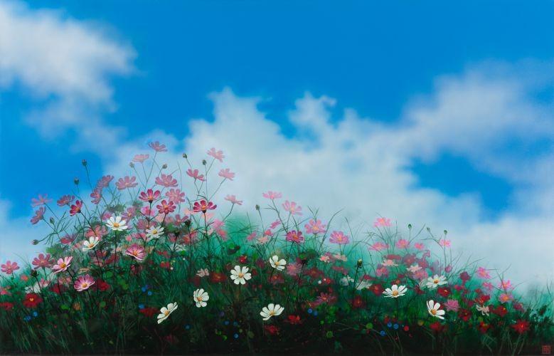 어느 이방인의 노래중에서 가을의 향기A, 2015,  Acrylic on canvas, 91.44×142.24 cm
