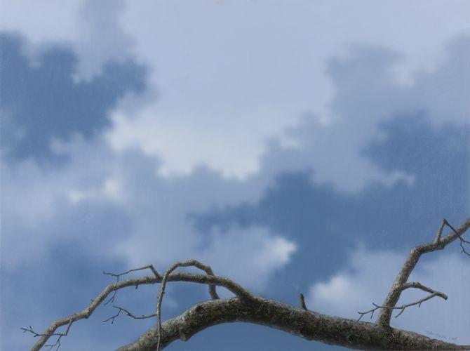 어느 이방인의 노래중에서 겨울나무, 2012,  Acrylic on canvas, 91.44×121.92 cm