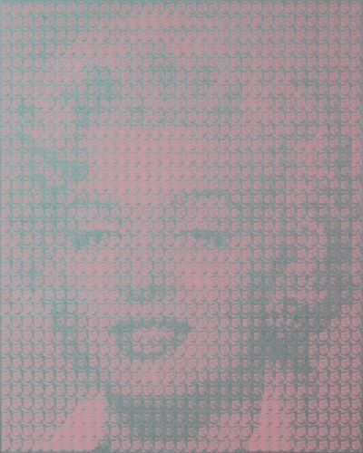 Marilyn monroe(John f, kennedy), 2009, Oil on canvas, 162.2×130.3㎝