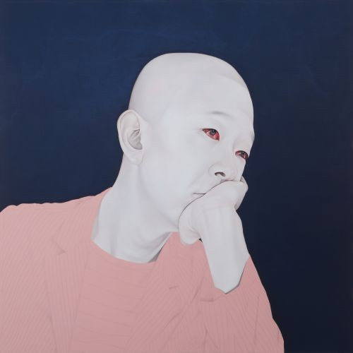 Melancholy, 2010-11, Oil, acrylic on canvas, 150x150cm