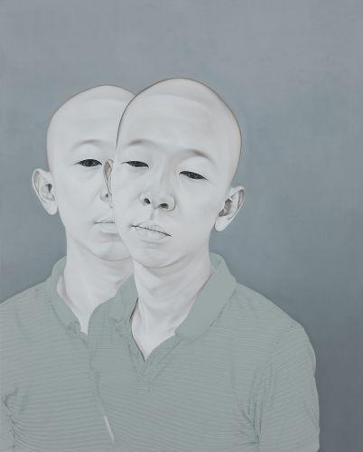 Duplicata, 2012, Oil, acrylic on canvas, 160x130cm