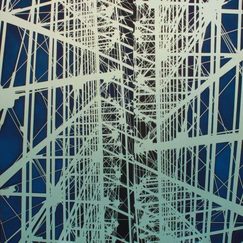 Metallica, 2010, Oil, acrylic on canvas, 150x150cm