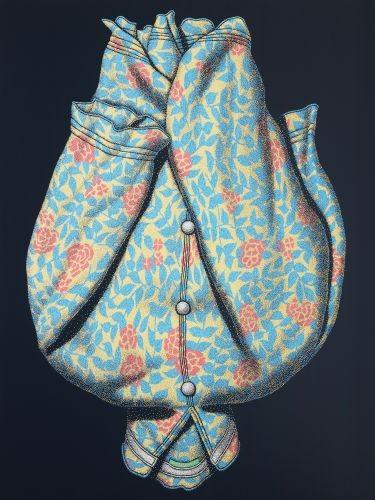 모두가 꽃이 되려 한다,  2010,   acrylic on canvas,  165×218cm
