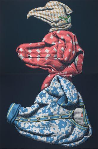 계급의구조,  2010,  acrylic on canvas, 330×218cm