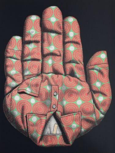 멈춤,  2010,  acrylic on canvas,  165×218cm