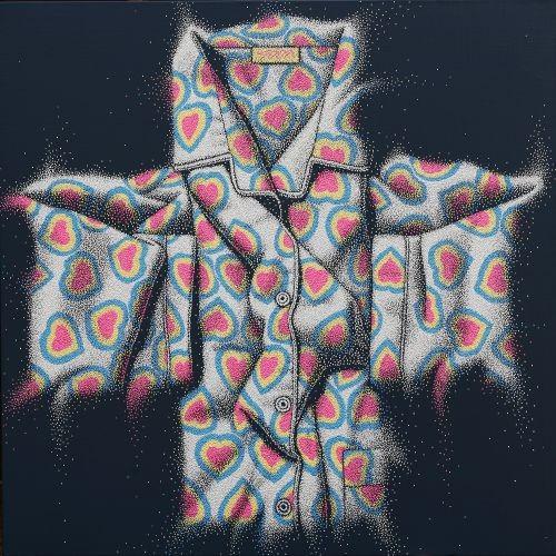 산다는것,  2012,  acryilc on canvas,  97X97cm